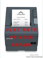 EPSON TM-T88V Flat Rate Repair including all parts and labor 6 Month Warr. M244A