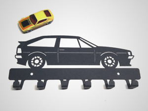 Wall key rack vw Scirocco mk 2 Gift Metal Garage Auto Home Classic Car Man Cave