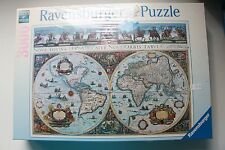 RAVENSBURGER PUZZLE 170548 WORLD MAP 1665 NEW!!YEAR 1994 IN SEALED BOX!!!