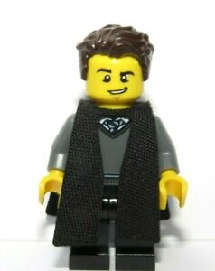 Genuine Lego Man Boy Graduate Graduation Minifigure Student  Brown Hair