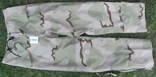 US Army Desert Gore-Tex Cold Weather Trousers Pants DCU Camo Small Long NEW