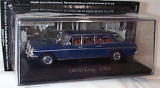 Mercedes 240 D Long W115 1973 1:43 SCALE Diecast Car collection