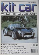 Kit car magazine 12/1995 featuring Metisse, Crendon 427