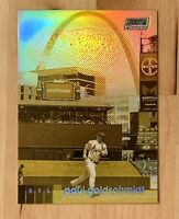 2020 Topps Stadium Club Chrome Refractor Gold Minted #68 Paul Goldschmidt ARCH