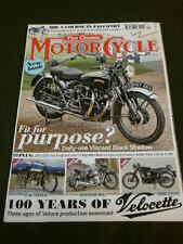 THE CLASSIC MOTORCYCLE - 100 YEARS OF VELOCETTE - DEC 2013
