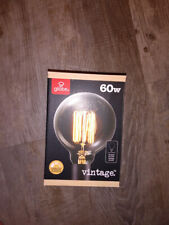 Globe Electric Vintage Edison Bulb 60W Clear glass medium base