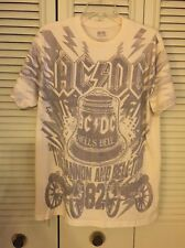 AC/DC Hells Bells 1982 Cannon And Bell Concert Tour T-SHIRT Large 2007 Rockware