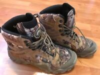 Red Wing Irish Setter Hunt VaprTrek ScentBan 2870 Camo Brown Hunting Boots 9.5 D
