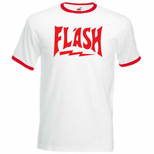 FLASH GORDON T Shirt 80s Queen Fancy Dress, Freddie Mercury Shirt top