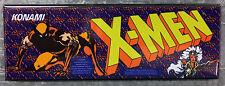 X-Men Arcade Game Marquee Fridge Magnet