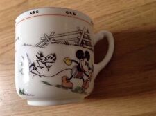 Paragon Mickey Mouse Cup Come on boys ! We'll go and dig some nice worms for din