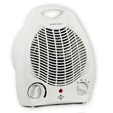Fan Heater Adjustable Thermostat with 2 Heat Setting 2000 W