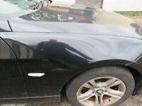 Genuine BMW 3 Series 2010 E90 Lci OS DRIVERS Wing NO DAMAGE BLACK schwarz 2 668