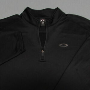 OAKLEY 1/4 ZIP STRETCH SOFT POLY GOLF PULLOVER--XL--WRINKLE FREE--PERFECT!!