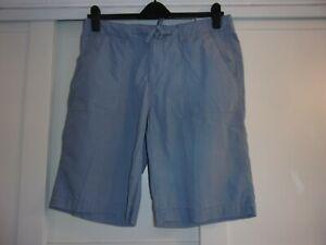"GAP, mens, 34"" waist, mid blue, 100% cotton shorts"