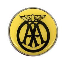 Classic AA Silver 30mm Silver Pin Badge