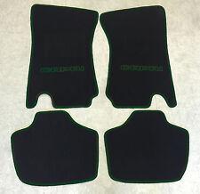 Autoteppich Fußmatten für Ford Capri 2 & 3 schwarz grün 4teilig Neuware