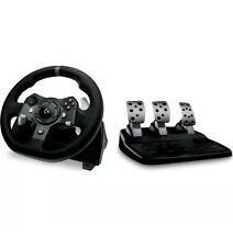 Logitech Driving Force g920 XBOX ONE & PC VOLANTE PEDALI & - Nero