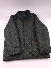 POLO Ralph Lauren Green Quilted Jacket Coat Men's XL x large