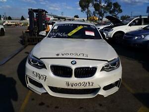 BMW 2 SERIES 2016 VEHICLE WRECKING PARTS ## V002193 ##