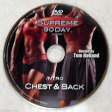 SUPREME 90 DAY WORKOUT - Intro Chest & Back -  DVD - Shot In HD DISC ONLY #58B