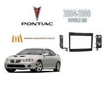 NEW PONTIAC GTO 2004-2006 DOUBLE DIN STEREO INSTALLATION KIT, TOOL SET