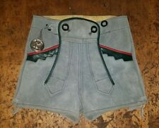 Vintage Bergfreund German Lederhosen Leather Suede Child's Size 5