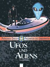 UFOS & ALIENS - Phänomen Omega - Colin Wilson BUCH