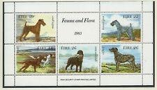 Ireland 1983 Irish Dogs (Fauna & Flora) Minisheet Mint Never Hinged