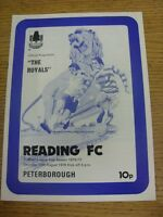 14/08/1976 Reading v Peterborough United [Football League Cup] . Thanks for view