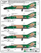Warbird 497th TFS, Nite Owls, F-4D 'Black Bottom' Phantom Decals 1/72 043