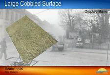 Coastal Kits 1:35 Large Cobbled Cobblestone Surface 29x42cm Display Base CKS0021