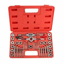 HEAVY DUTY 40PC METRIC TAP WRENCH AND DIE CUTTER SET M3-M12 IN STORAGE CASE CT