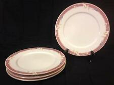 "Sango Majesty Taupe Fantasy Set of 5 (7 7/16"") Bread & Butter Plates Vintage"