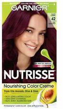 Garnier Nutrisse Nourishing Permanent Hair Color Creme 42 Deep Burgundy