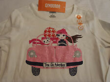 Gymboree Size 4 Fairy Tale Forest Long Sleeve White Cotton Adventure Shirt Nwt