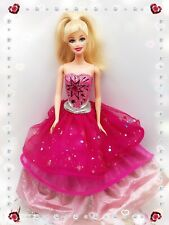 BARBIE 2 IN 1 MOVIE DOLL:A FASHIONABLE FAIRYTALE-LTS & SND-TRANSFORMING GOWN-'09