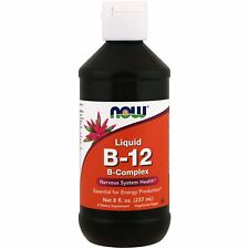 Now Foods Vitamin B-12 Liquid B-Complex - 237ml - Nervous System Health