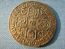 More details for 1723 sixpence ef with cabinet toning