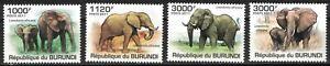 BURUNDI:2011 MNH Elephants mr20
