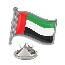 United Arab Emirates Wavy Flag Pin Badge UAE Abu Dhabi Dubai New & Exclusive