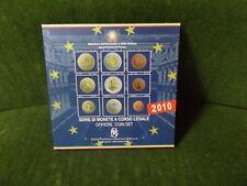 Italien 2010,Offizieller Kursmünzensatz (KMS) 2010,NEU,OVP!