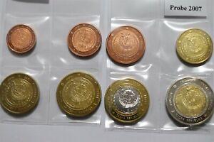 CZECH REPUBLIC 2007 FANTASY EURO PATTERN COIN SET B36 #169