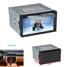 "6,95 ""2 Din GPS Navigation Wince System Auto Video FM DVD CD Spieler Bluetooth"