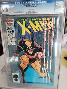 uncanny X-Men Comic 207 cgc 9.6 nm wolverine cover