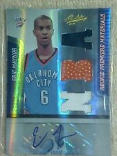 ERIC MAYNOR 2009-10 ABSOLUTE ROOKIE AUTOGRAPH PREMIERE MATERIALS CD #158 219/499