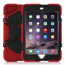 """""""Waterproof""""Case For iPad 2/3/4 Mini 1/2/3 Shockproof Heavy Duty Cover +Stand"""