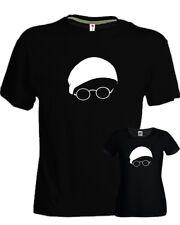 T-shirt Lucio Dalla album Dalla nera cantanti musica italiana anni 70 uomo donna