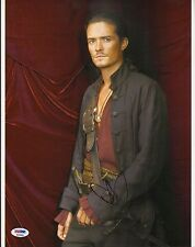 Orlando Bloom Signed Pirates of the Caribbean 11x14 Photo PSA/DNA COA Autograph
