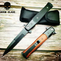 Quick Open Knives Free Ship Folding Blade Knife G10 Handle Camping Knife Edc